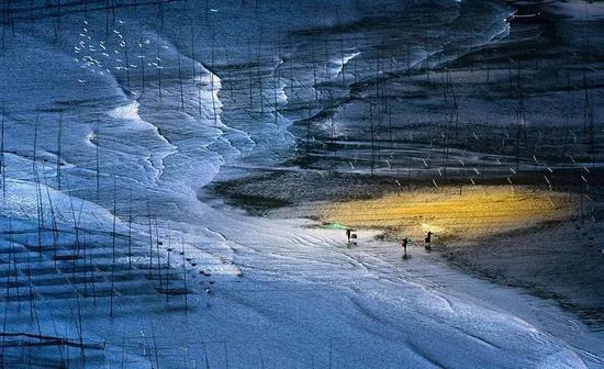 霞浦滩涂上的小皓渔歌。范军 摄