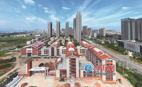 漳州龙文第三实小有望年底完工 将新增学位1890个