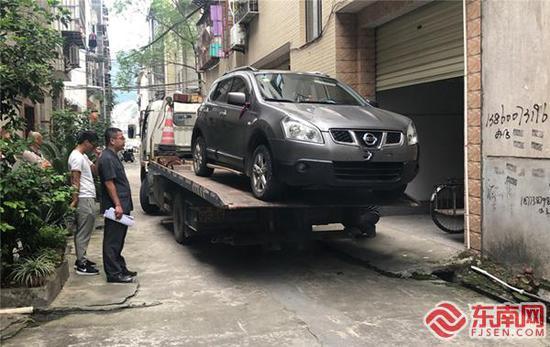三明将乐法院强制拖车 促进案件顺利执结