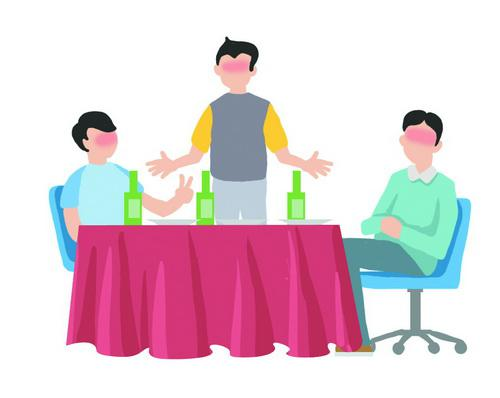 同日,唐某出面力邀林某华参加酒局,唐、徐二人在桌上对林某华频繁劝酒。
