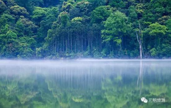 这里0雾霾,呼吸的每一口空气全是负离子;