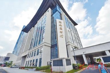 福州市图书馆新馆。
