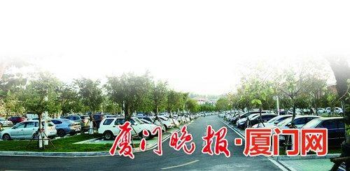 -湖里区提高土地利用率,增建公共停车场。