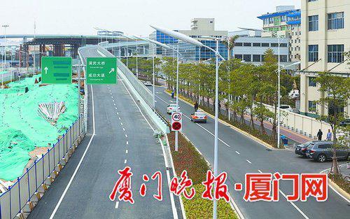 ■匝道已具备通车条件。