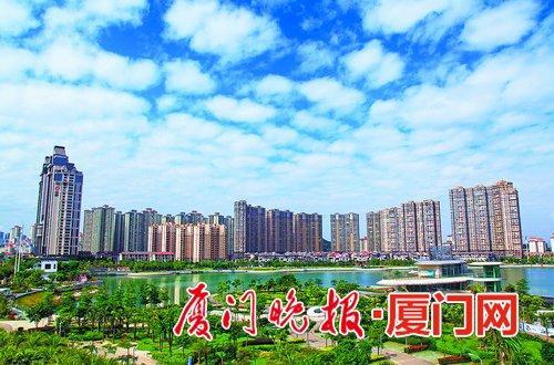海沧新城建设日新月异。