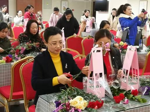 """心生美好 如花绽放——邮储银行三明市分行举办""""三八""""妇女节"""