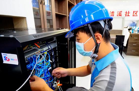 福州:中国电信全力护航核酸检测演练