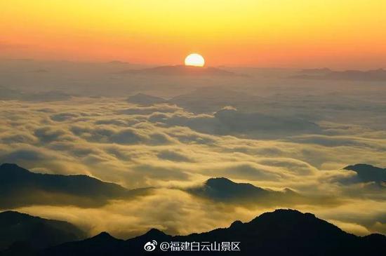 图 | 福建白云山景区
