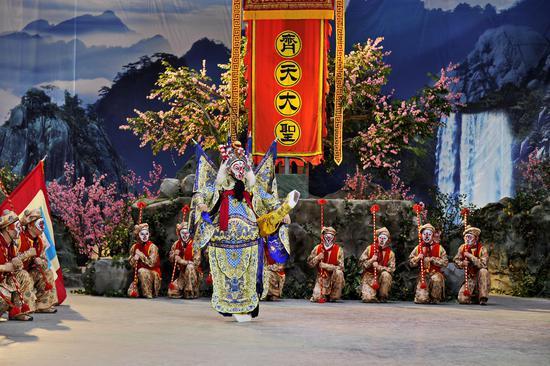 京剧电影《大闹天宫》举行媒体推介会 年底有望与观众见面