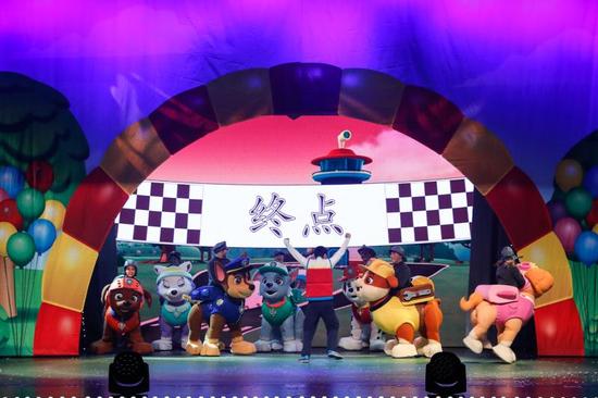 《汪汪队立大功》来厦过六一 献礼厦门国际儿童艺术节