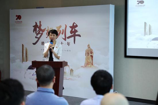 厦门市委宣传部副部长、市委网信办主任卢秀萍发言