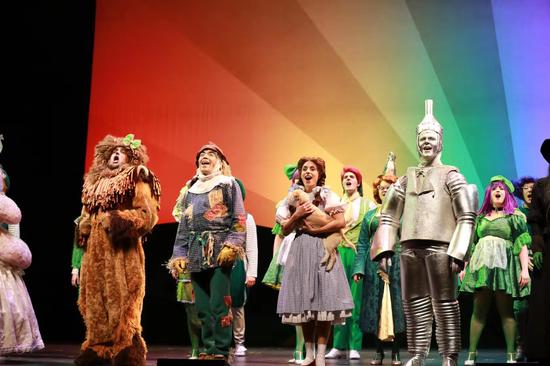 音乐剧《绿野仙踪》首登鹭岛 舞台欢乐升级玩转黑科技