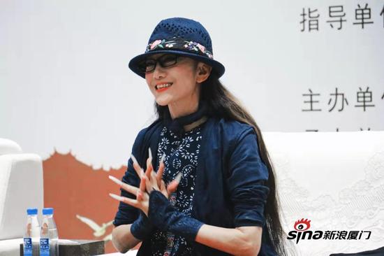"""""""孔雀公主""""杨丽萍携《春之祭》来厦 谈舞蹈不是事业而是生活"""