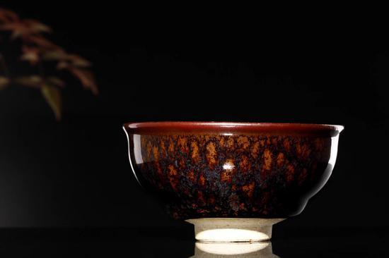 唐人祥茶器矅变天目