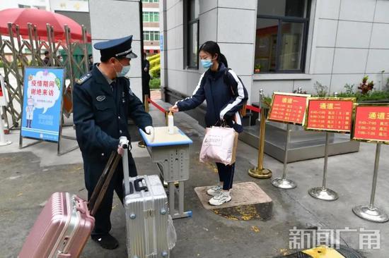 丰泽辖区3085名高三学子返校 开始冲刺备考时光