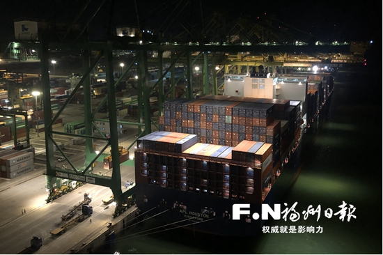 福州江阴港集装箱业务满负荷生产 今年首次满产超产