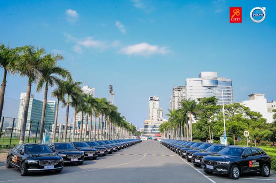60辆沃尔沃汽车已整装待发,为2020厦洽会提供出行服务