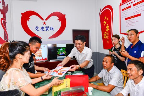 中国电信寿宁分公司为创业青年送上创业扶贫专属套餐