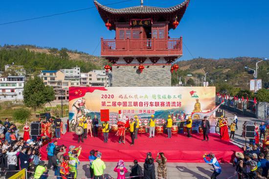 风展红旗如画,骑聚绿都三明 2020第二届中国三明自行车联赛清流站圆满落幕