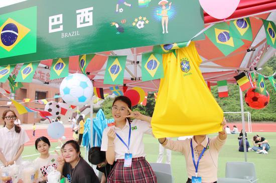 阳光学院举办国际文化交流展  尽显异域风情