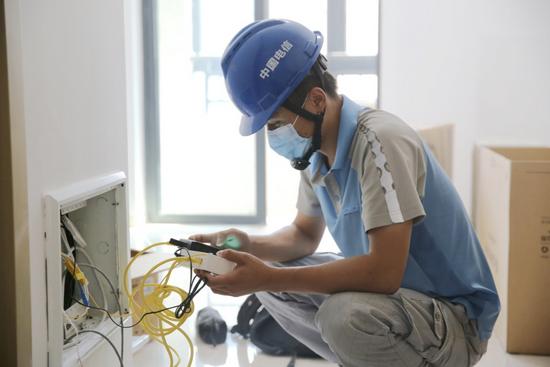 中国电信厦门分公司圆满完成厦门异地封控点公寓通信保障任务
