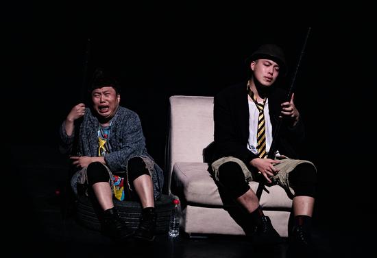 孟京辉经典戏剧作品《两只狗的生活意见》再度来厦