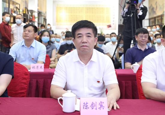 中共安溪县委常委、宣传部长陈剑宾