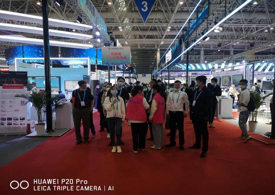福建省商贸业联合会组织百家企业参加2021中国数博会