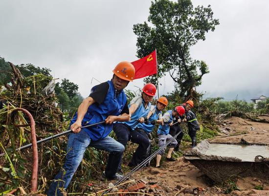 南平:电信全力抢修恢复通信
