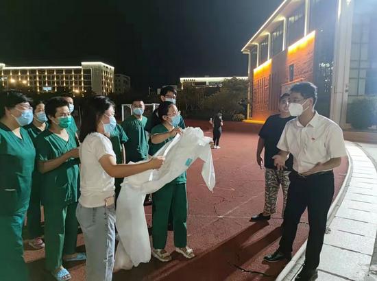 厦大附属中山医院134人核酸采样队今天顺利撤离同安