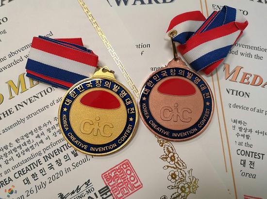 阳光学院师生在CiC国际比赛中斩获3项国际发明大奖