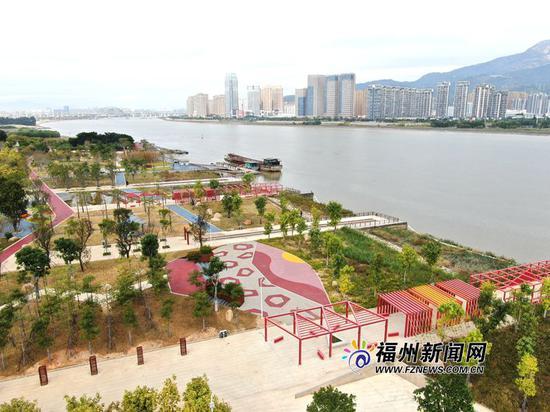 福州三江口生态公园全域提升 12公里最美榕城福岸将亮相
