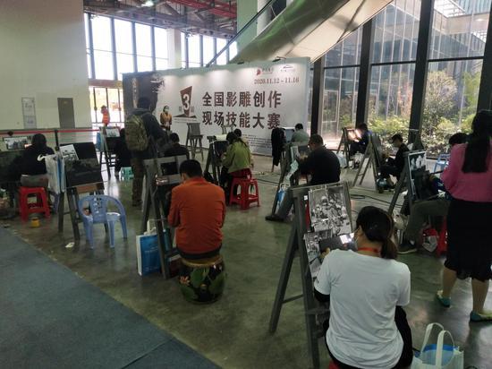 第六届中国国际雕刻艺术品博览会盛大开幕