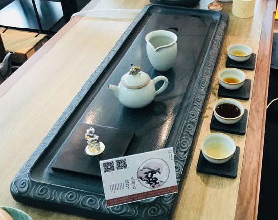 楠氏物语太湖石系列茶具和香器
