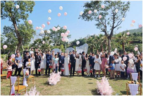 厦心白衣天使办集体婚礼,他们中有'援鄂夫妻档'