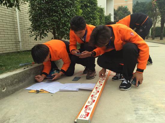 福建职业院校土木水利类技能大赛在福建建筑学校举行