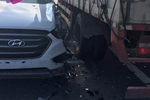 泉州一司机听信导航高速上调头逆行 迎面撞上大货车