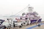 厦大嘉庚号科考船首次向公众开放 7月首航马来西亚