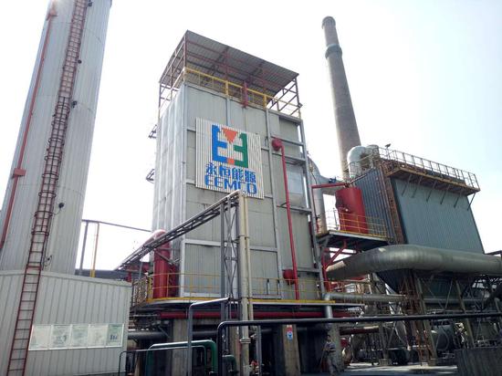 永恒能源帮助绿康生化股份有限公司兴建的福建省浦城县最大的导热油项目。企业供图