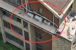 福州一男子装空调时突然坠楼 没任何安全措施