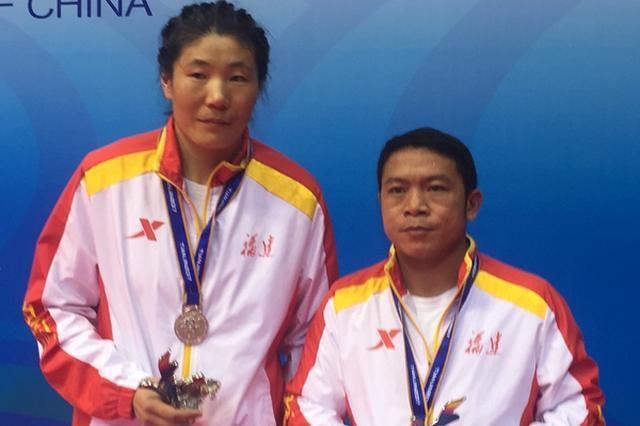 福建拳击队获首枚全运会银牌 杨晓丽夺女子75KG亚军