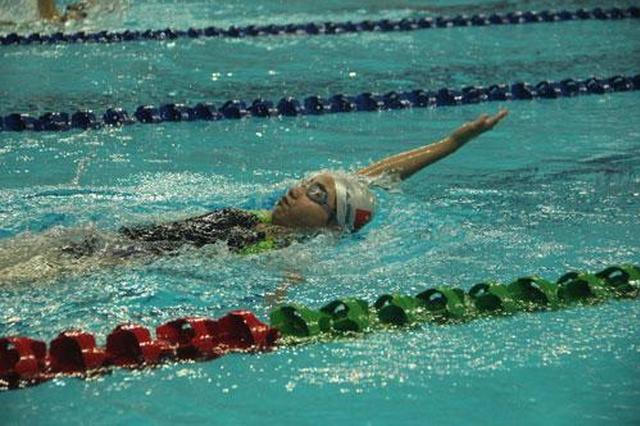 全国少儿游泳锦标赛落幕 福州10岁小将获全能冠军
