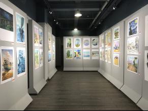 300多幅学生画作亮相中华儿女美术馆