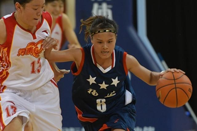 中国女子篮球联赛资格赛昨开赛 福建队大比分失利