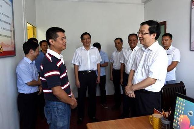 福建省领导到南平调研巡察工作 深入有关单位和乡镇
