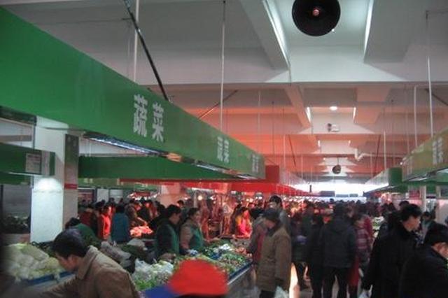 福州鼓楼5家农贸市场完成智慧提升改造 开门迎客