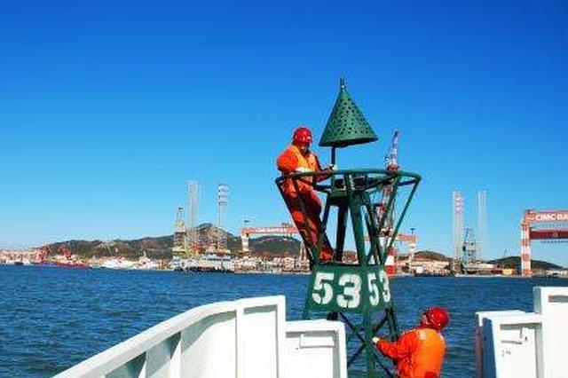 福州航标处5年新建266座航标 服务地方港口发展