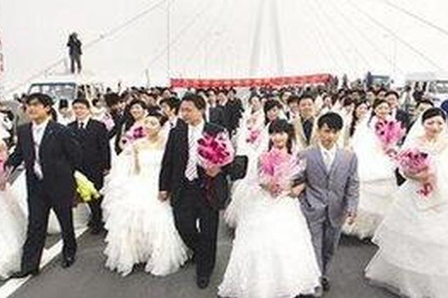 2017新福州人集体婚礼11月3日举行 百对新人参加