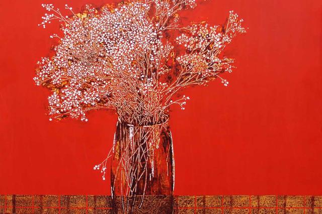 第一回全国美展获奖漆画家作品联展作品集——张玉惠