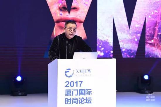 厦门国际时尚周时尚组委会主席 计文波